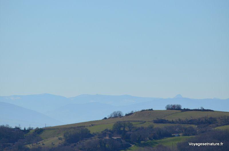 Les horizons de la région Rhône-Alpes-Auvergne