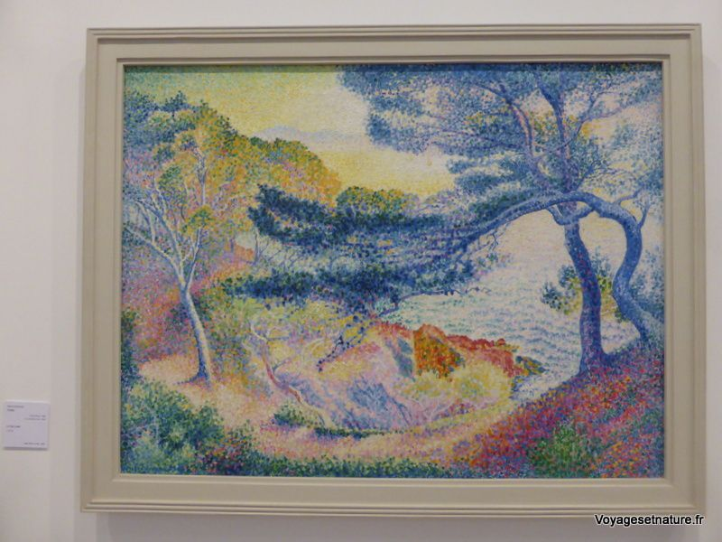 Le cap Layet de Henri-Edmond Cross 1904