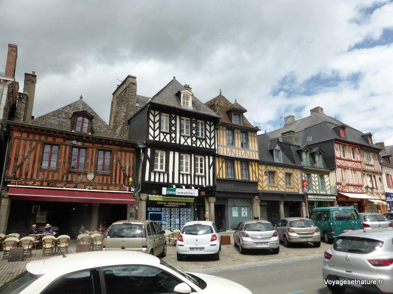 Dans les rues de Dol-de-Bretagne