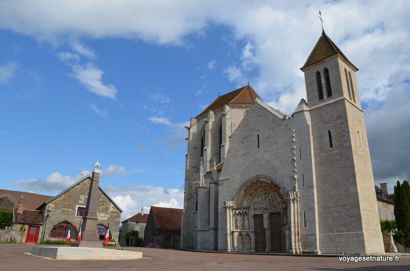 Ancienne abbaye St-Thibault dans l'Auxois
