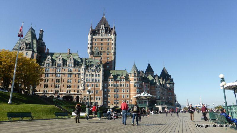 Balade touristique dans la ville de Québec