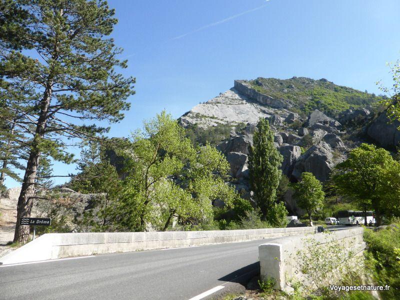 Le Claps de la Drôme (éboulement du XVè siècle)