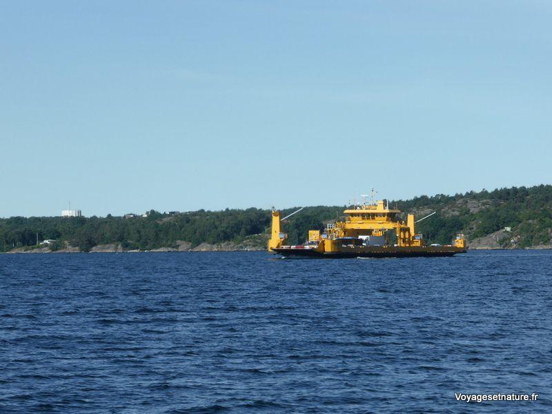 Ferry vers Lysekil