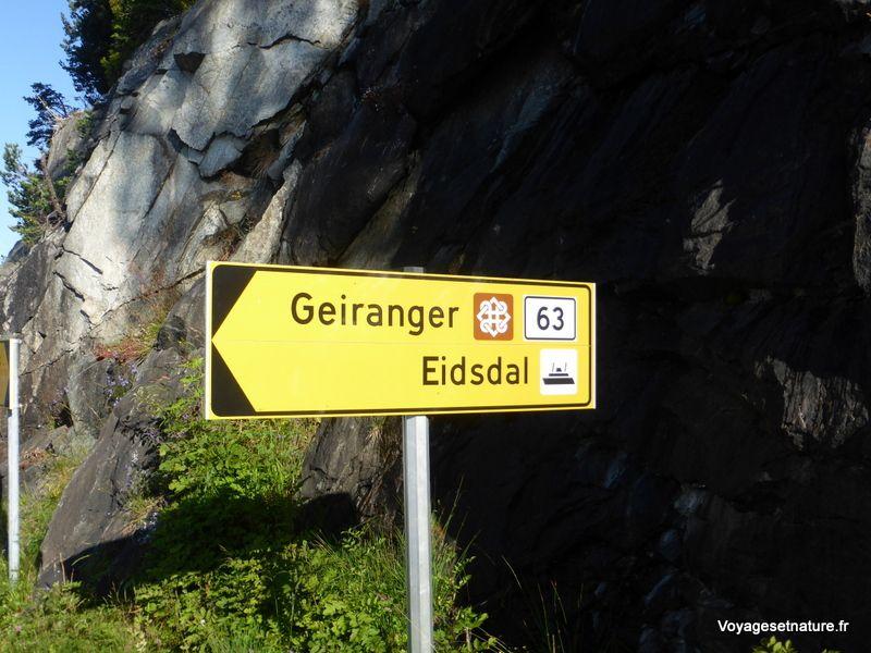 Autour du fjord de Geiranger