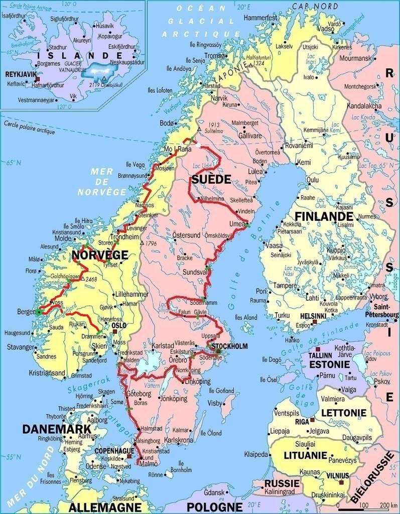 De Bergen à Oslo