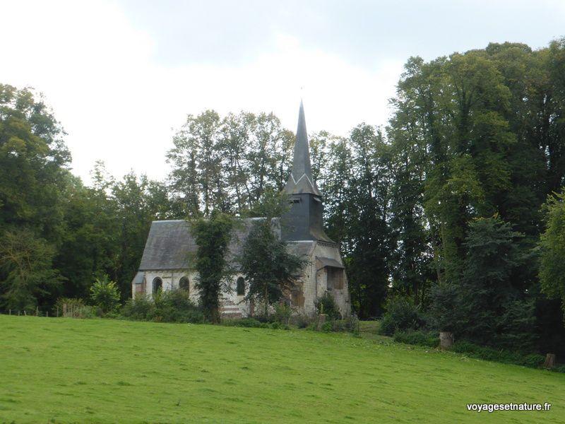 L'abbaye Saint-Martin d'Auchy à Aumale (76)