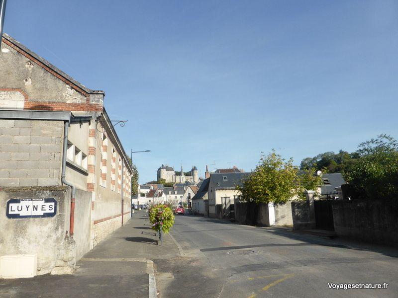 Village de Luynes, au bord de Loire, près de Tours (37)