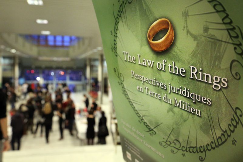 Law of the Rings - Le droit appliqué à Tolkien?