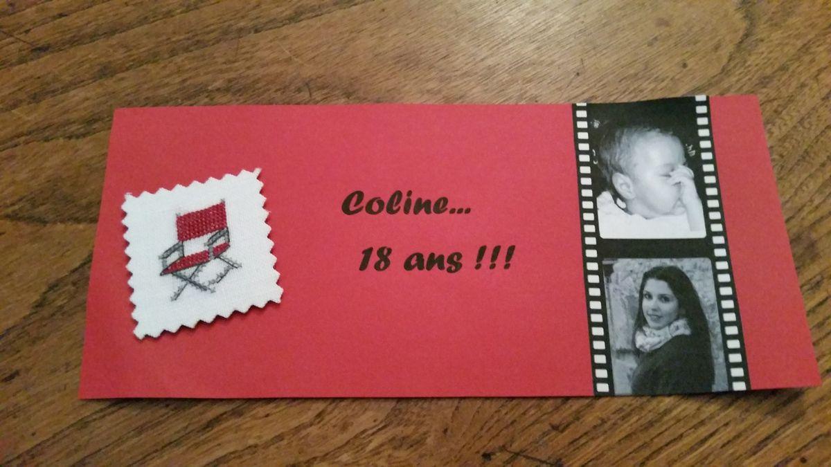 Coline...  18 ans !!!