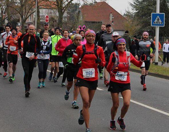 Bravo Nathalie et Marielle, deux marathoniennes de plus à l'UAV