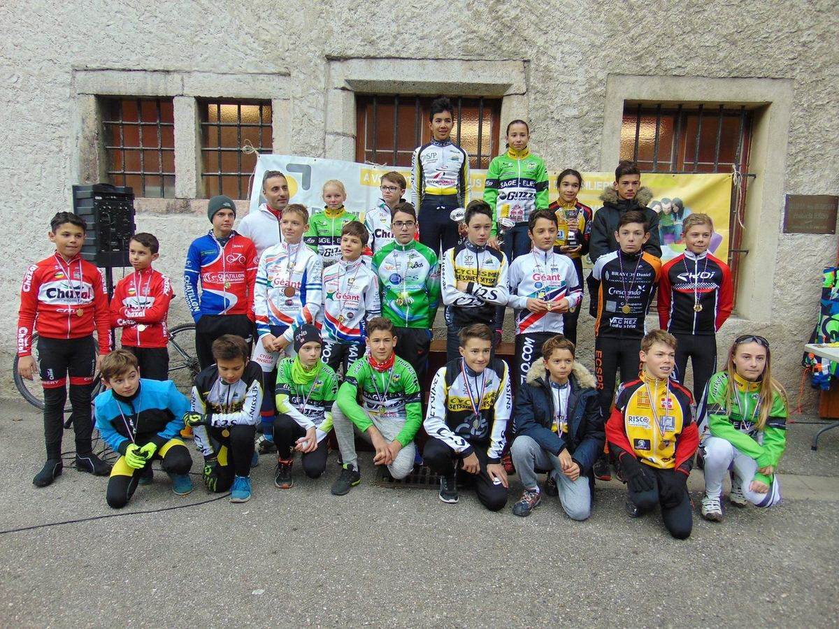 CYCLO CROSS DE FONTAINE ET DE GEMENS 2017