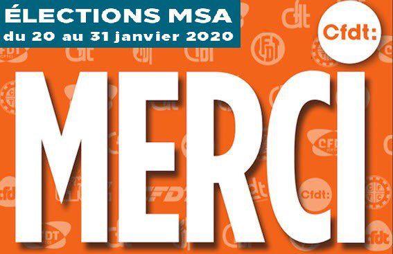 Nette victoire de la CFDT lors des élections à la Mutualité Sociale Agricole (MSA)