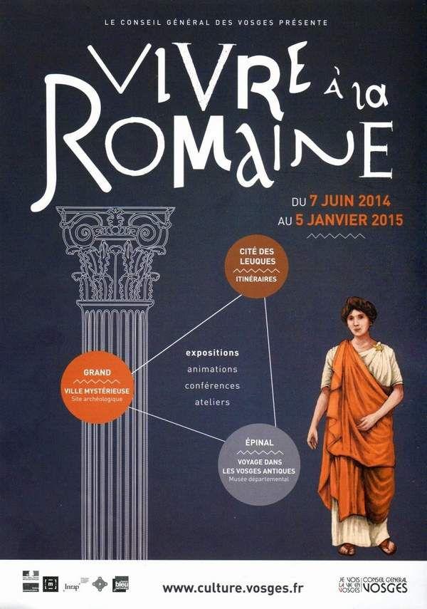 La classe de 6e à l'exposition &quot&#x3B;vivre à la Romaine&quot&#x3B;