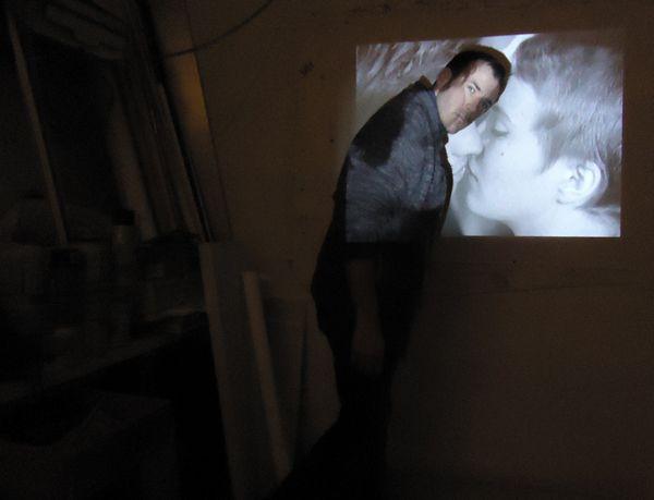 """Recherches à l'atelier sur """"À bout de soufle"""" de Jean-Luc Godard  pour le tournage de """"Ces baisers là"""" de Daniel Schick (Schuch productions)"""