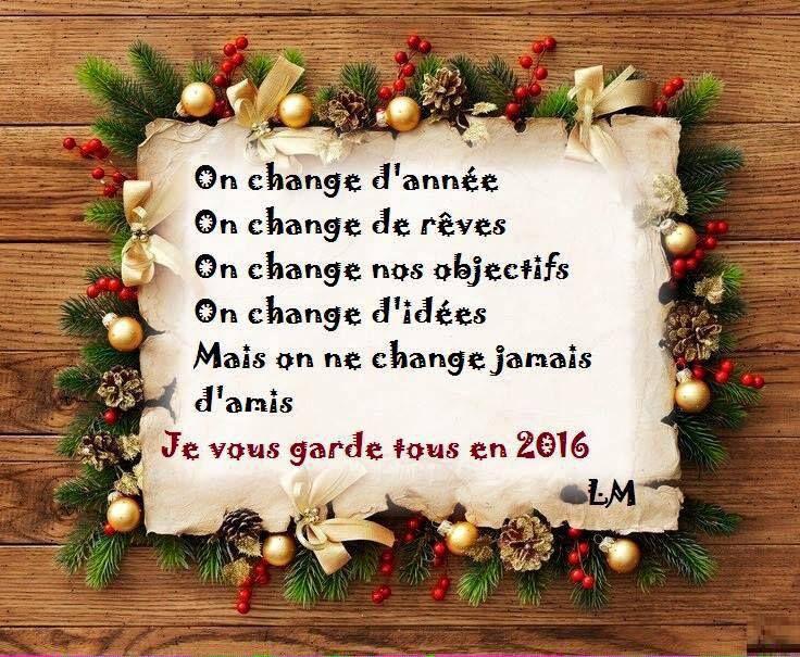 Tous nos meilleurs voeux pour 2016