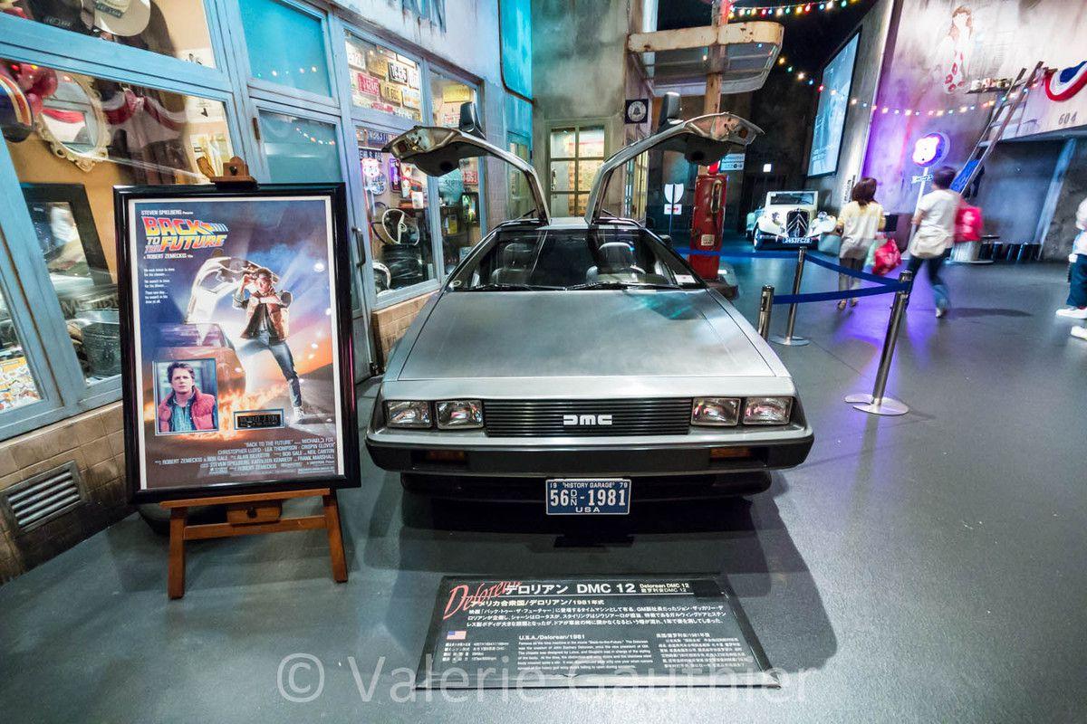 Retour vers le futur avec une DeLorean...