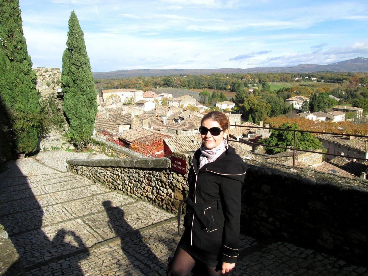 Le village de Grignan et son célèbre château...