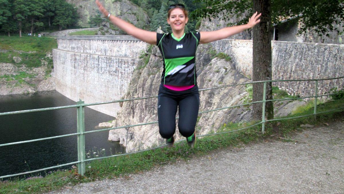 Petite séance running à Rochetaillée dans la Loire!