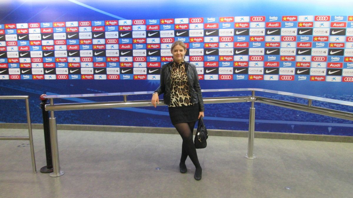 Day 1: visite du plus grand stade d'Europe Camp Nou, stade de l'équipe de foot du FC Barça...