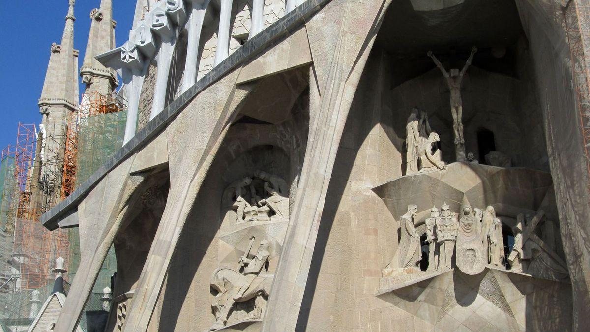 La Sagrada Familia à Barcelone...