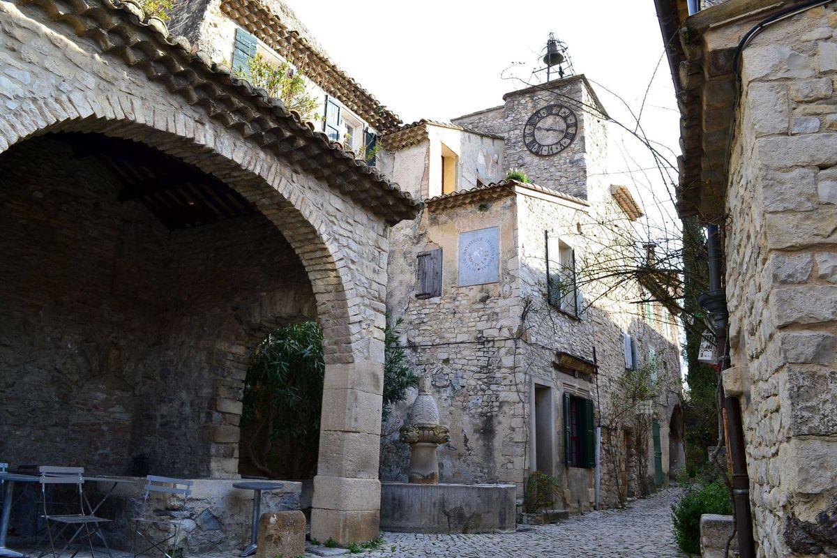 Le magnifique village de Séguret...