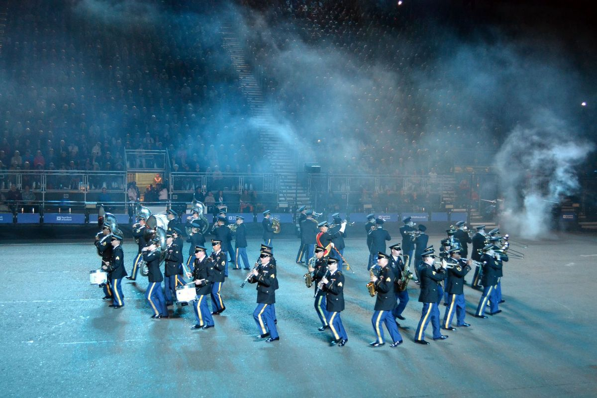 Le Military Tattoo d'Edimbourg...