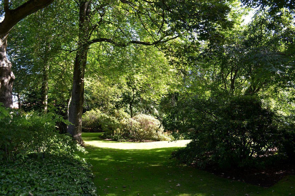 Visite d'Holyrood Palace et de ses jardins...