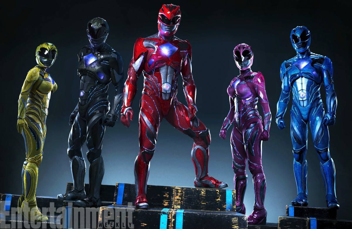 Power Rangers 2017: It's Morphin time !!! (Suits revealed)