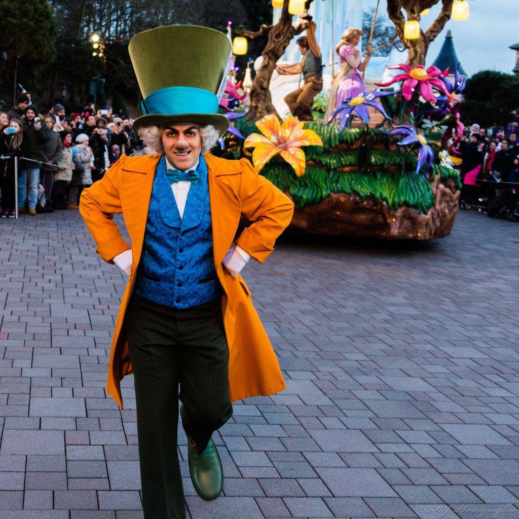 La parade de Disney au park