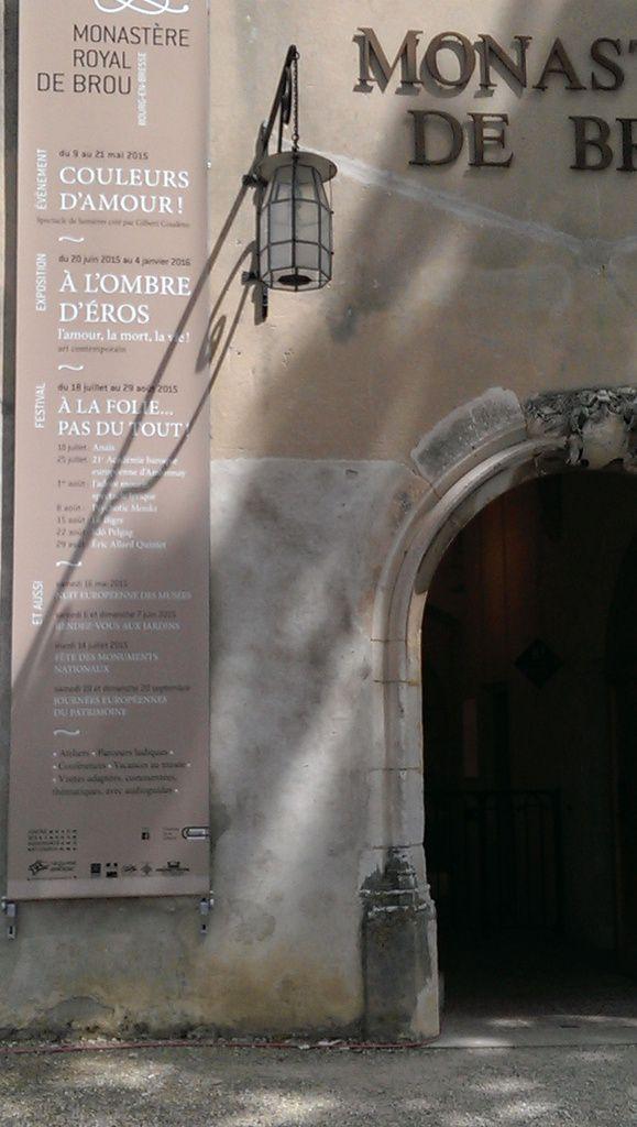 &quot&#x3B;A l'ombre d'Eros&quot&#x3B; à l'affiche au Monastère royal de Brou