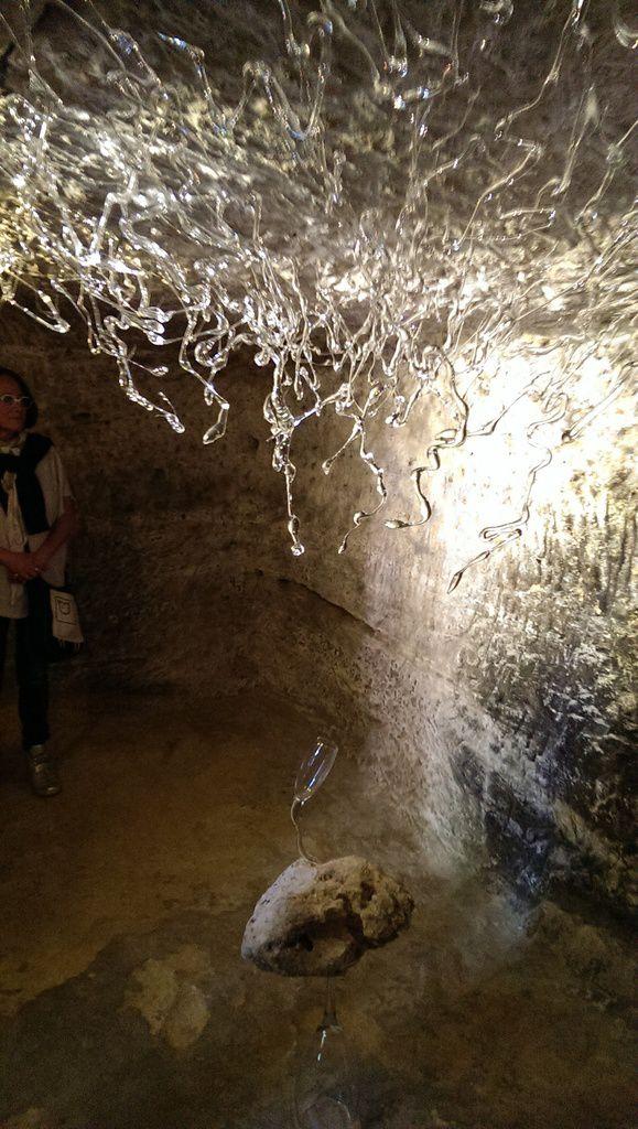 &quot&#x3B;La chair et l'esprit&quot&#x3B; - Julie Legrand à la Chapelle Sainte-Radegonde de Chinon