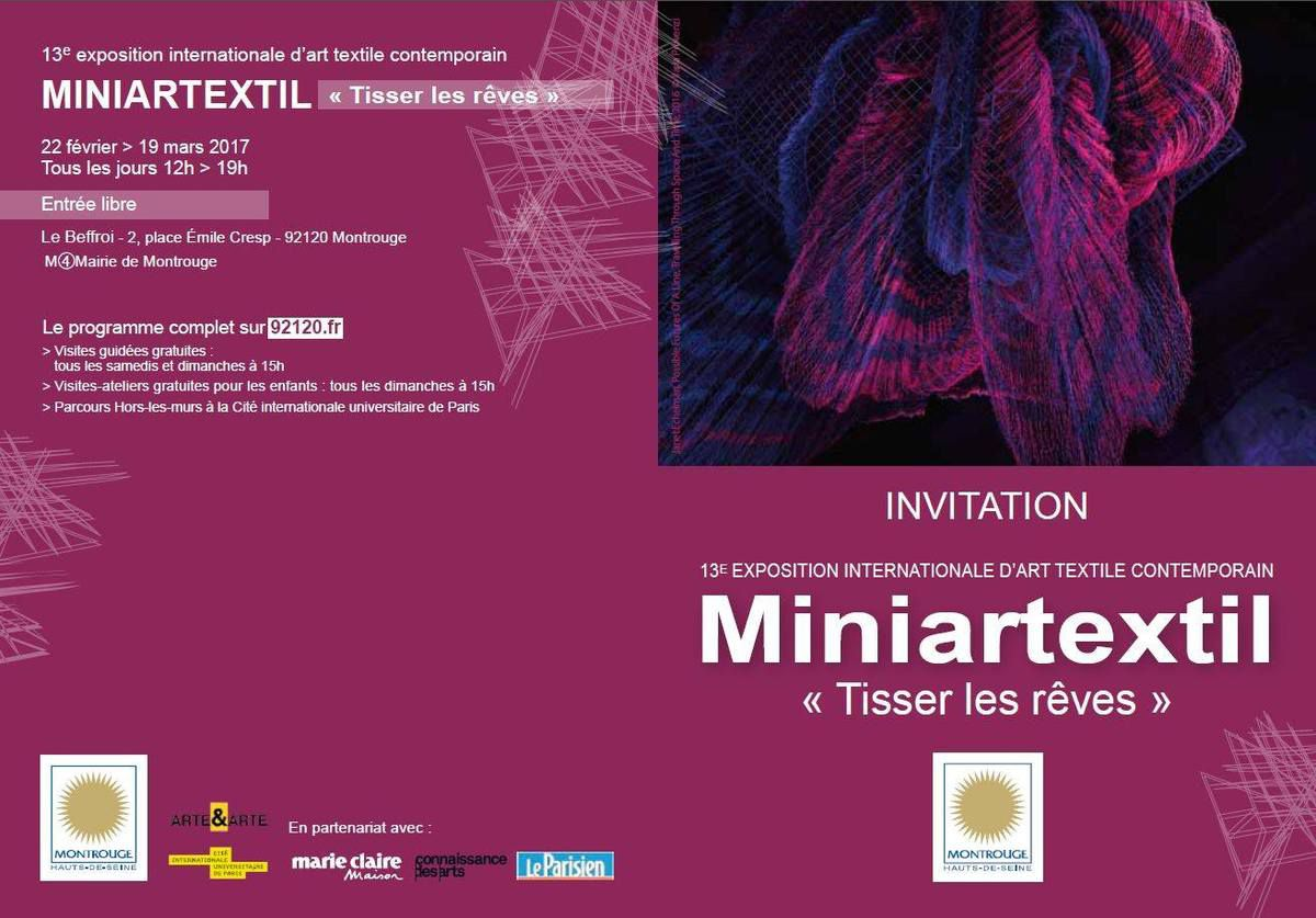 TISSER LES REVES / TO WEAVE DREAMS - Miniartextil 13 à Montrouge