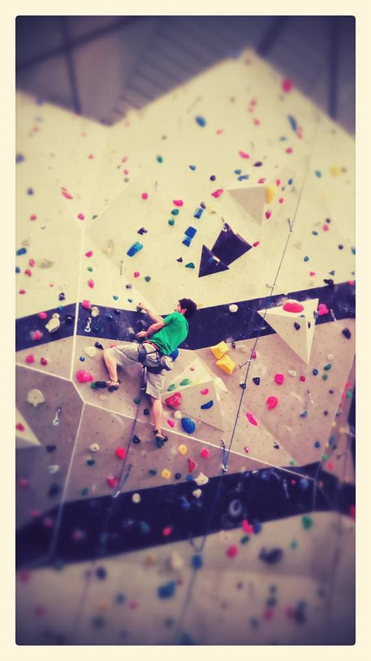 Climbing is colourful!