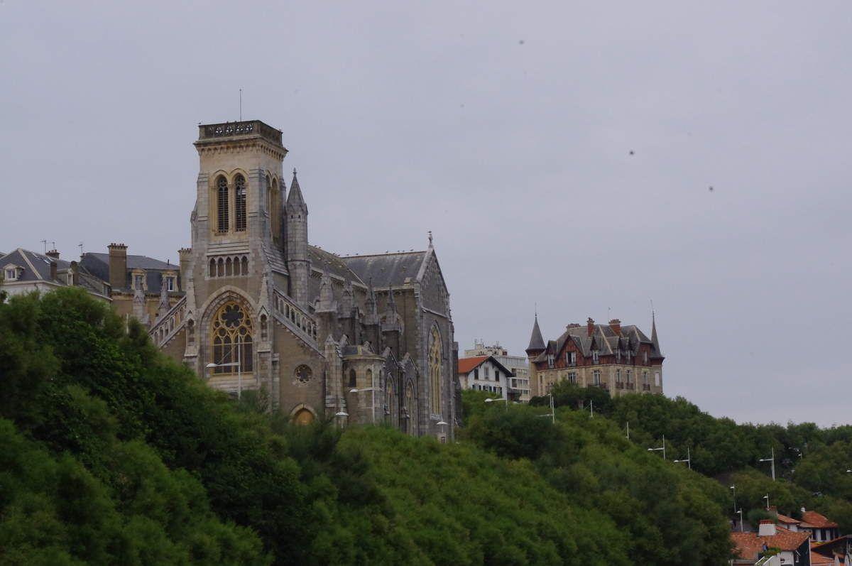 Eglise Sainte Eugénie.