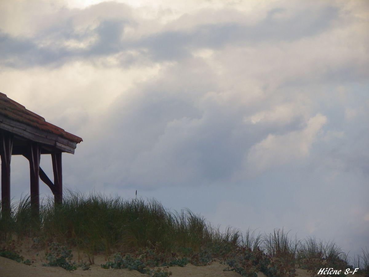 Photos reposantes plage des Landes et océan