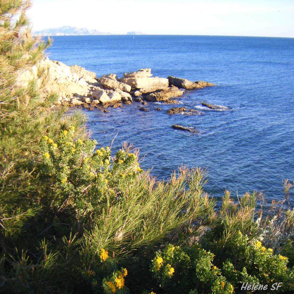 Promenade du phare à Carry-le-Rouet, côte bleue