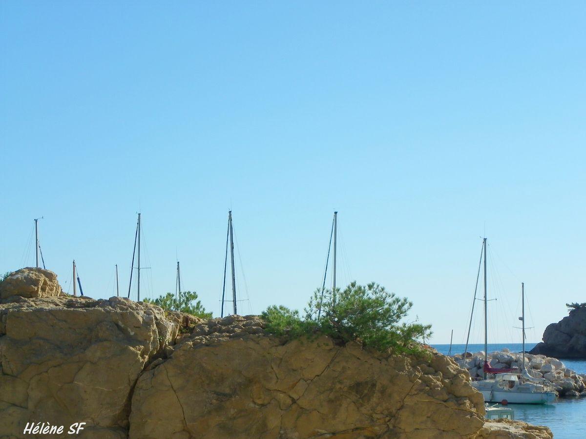 Balade à la Redonne, une calanque de la côte bleue