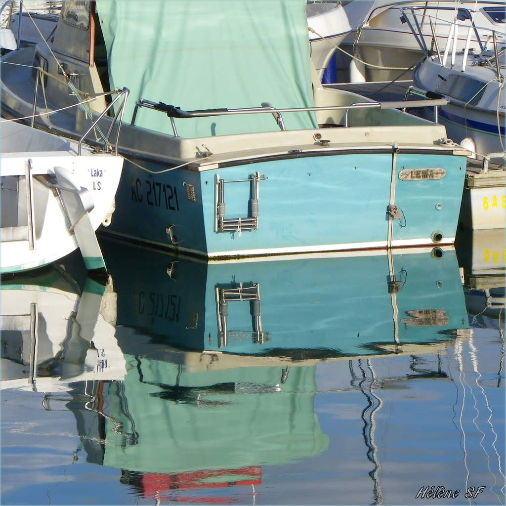 Collection de barques et petites embarcations