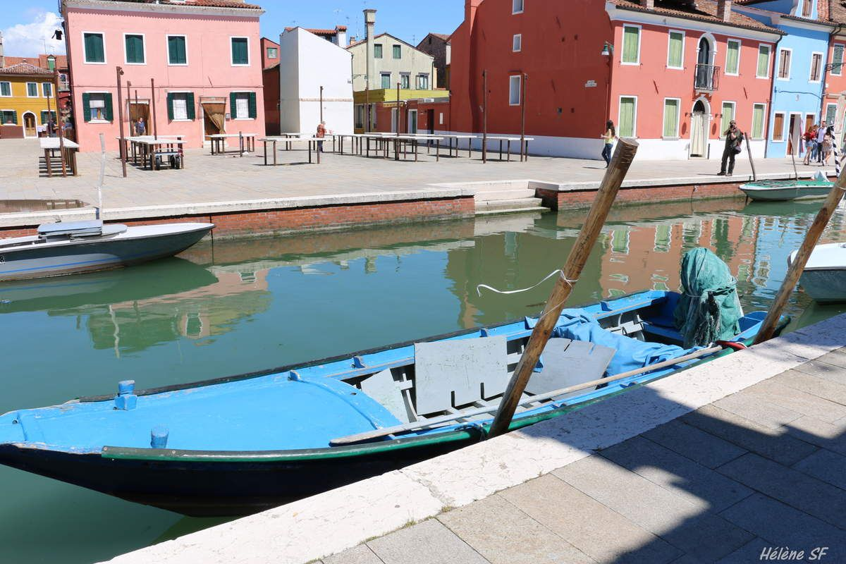 Barques à Burano une nouvelle collection en couleurs!