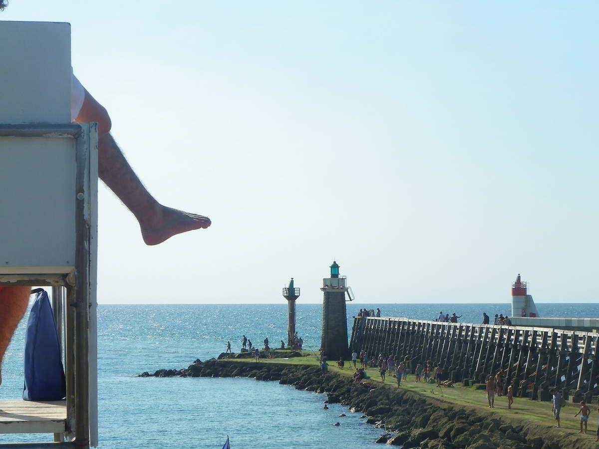Capbreton, sa plage et son phare