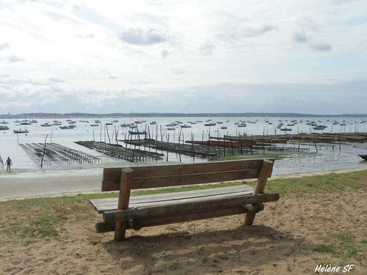 Arcachon: parcs à huîtres et dune du Pilat