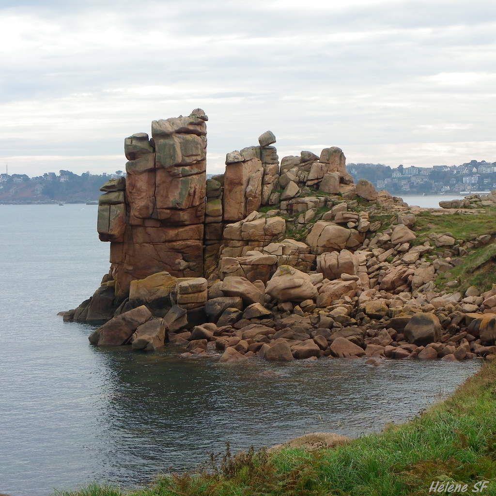 Les rochers de granit rose de Ploumanach et un bon plan vacances