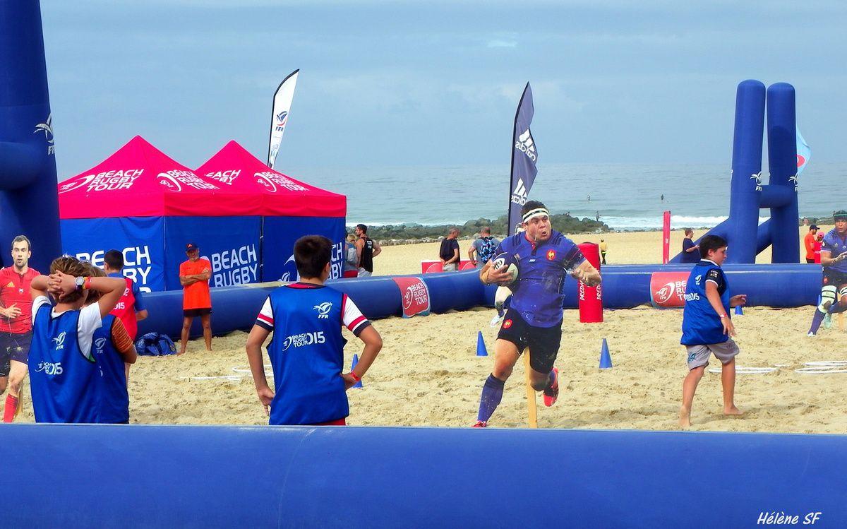 Beach rugby tour à Vieux-boucau, la plage autrement