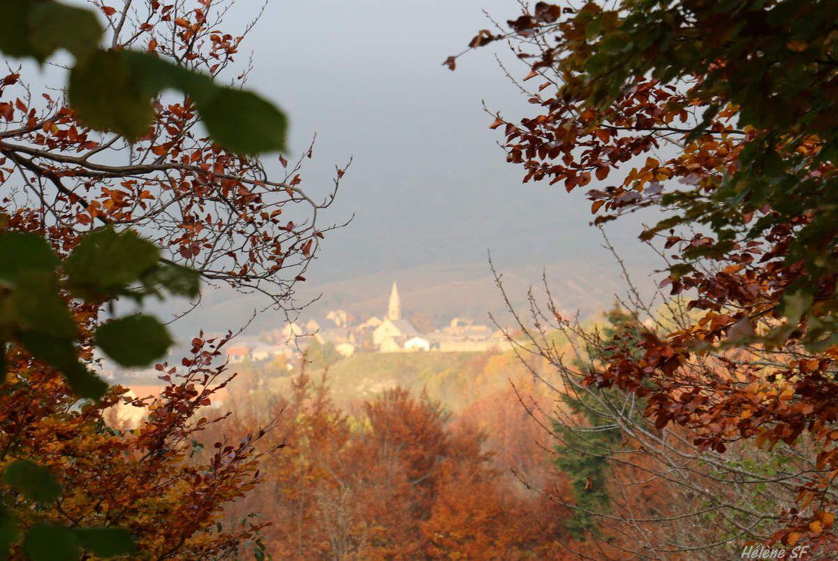 Le village d'Ancelle dans la vallée du Champsaur
