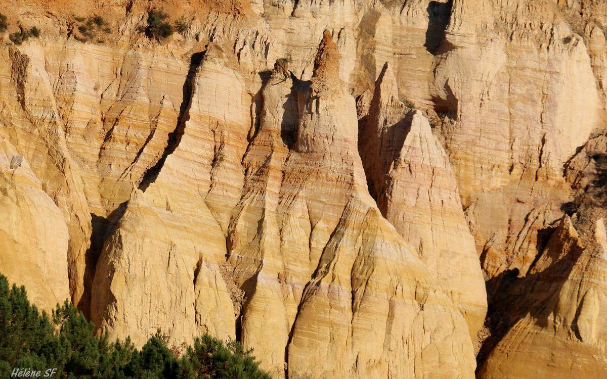 Le Colorado en Provence: balade à Rustrel