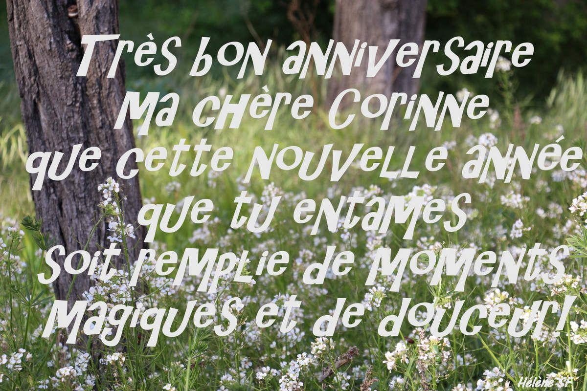 Bon anniversaire Nathalie! (et autres prénoms!)