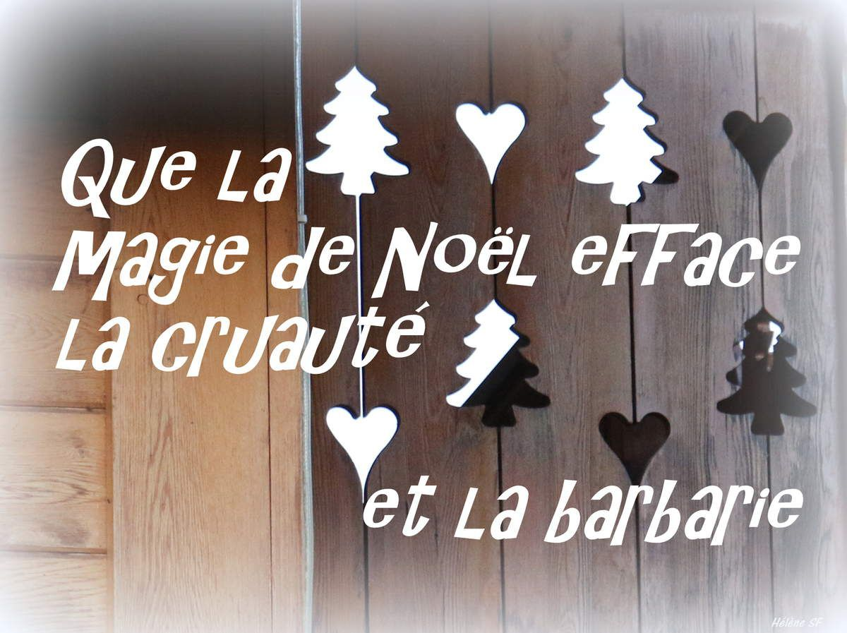 Collection de cartes pour un noël sans terrorisme