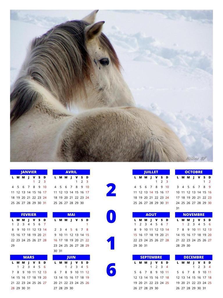 Des calendriers 2016 avec photos de montagne à imprimer