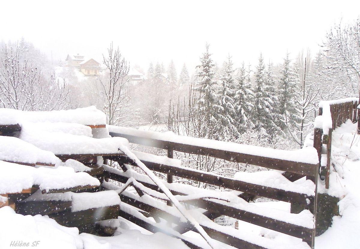 Balade à Ancelle sous la neige