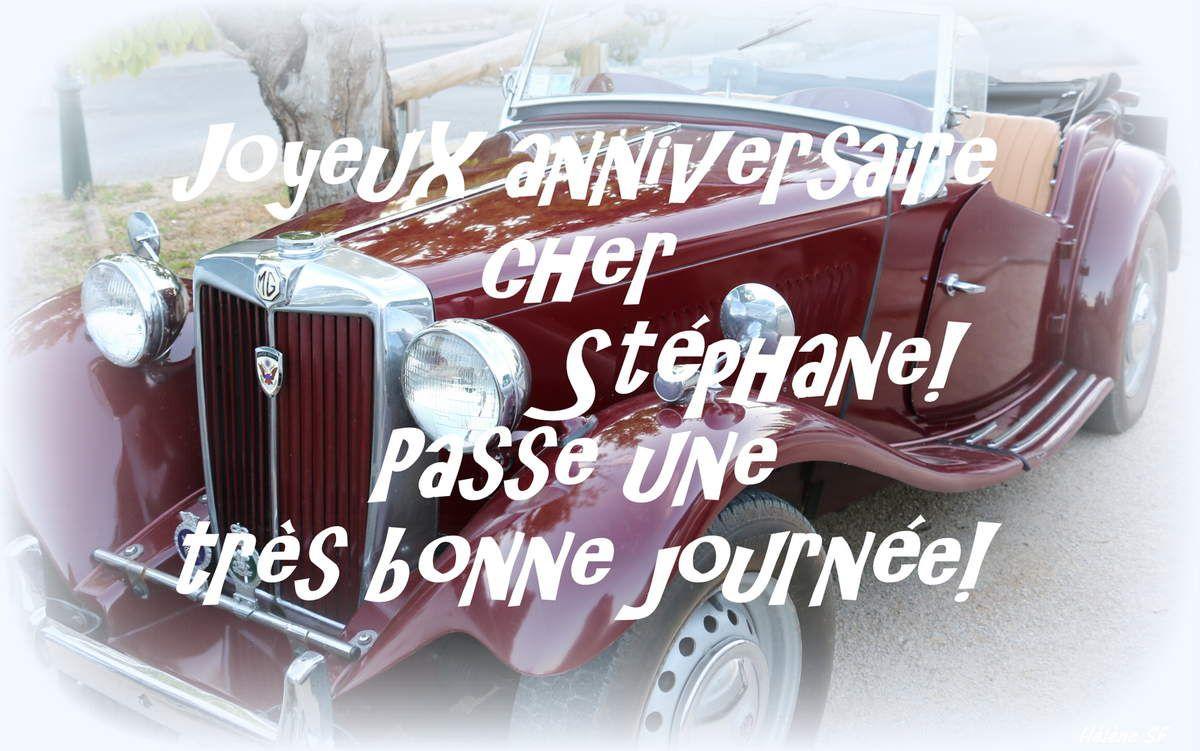Bon anniversaire aux hommes: Christophe, Philippe, Michel et les autres